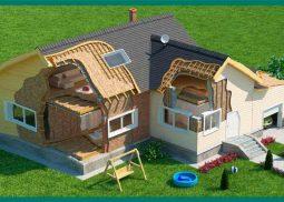 Шумоизоляция в деревянном доме